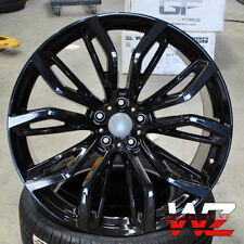 "20"" 375 Style Staggered Wheels fits BMW X5 X6 X5M X6M Gloss Black Rims"