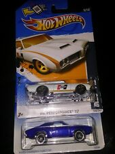 2 Hot Wheels cars OLDS 442 HW performance '12 #5 & Blue Streak series 1 573 1996