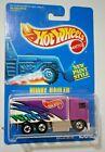 VTG HOT WHEELS 1991 BLUE CARD Hiway Hauler #238 Purple Mattel