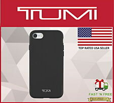 Tumi Coated Canvas Case Cover Black Apple iPhone 7 & iPhone 8 TUIPH-02