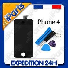 ECRAN LCD RETINA + VITRE TACTILE SUR CHASSIS POUR IPHONE 4 NOIR + OUTILS