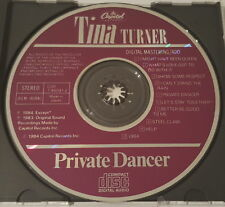 Tina Turner - Private Dancer, Capitol Records CDP 7 46041 2, Japan CD