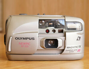 Olympus Newpic AF200 Point & Shoot APS Film Camera Working