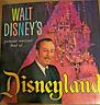 Walt Disney's Pictorial Souvenir Book of Disneyland - 1965 - Vintage