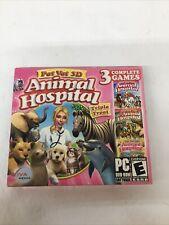 Pet Vet 3D Animal Hospital Viva Media CD-ROM PC