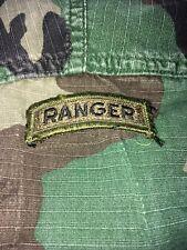 New listing 1 Us Army Subdued Uniform Ranger Tab