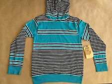 Element Boy's Pullover Hoody Multi Stripes Size M