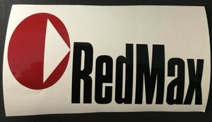 RedMax Decals Stickers Trimmer Gas Backpack Leaf Blower 2 LOT Free Shipping