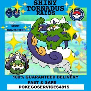 Pokemon Go ✨Shiny Tornadus ✨Guaranteed Raid Capture 100% Guaranteed & Safe