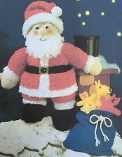 X1 - Knitting Pattern - Father Christmas Santa DK toy Xmas