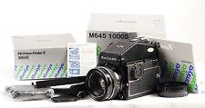 Mamiya M645 1000s Kit de Cámara SLR de película de formato medio. (1604)