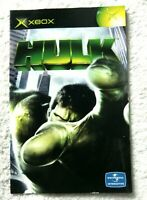 74223 Instruction Booklet - Hulk - Microsoft Xbox (2003)