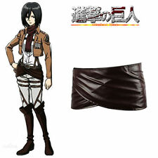 Cosplay Attack on Titan Shingeki no Kyojin Leather skirt hookshot belt costume