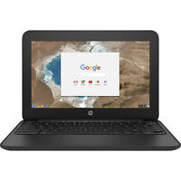 "HP 11 G5 Chromebook 11.6"" Laptop Intel Celeron N 1.60GHz 4GB 16GB SSD - 1FX82UT"
