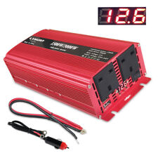 3000W Converter Power inverter DC 12V To AC 220V-240V Invertor 3.1A 2 USB UK