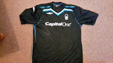 Ufficiale Nottingham Forest 2007 - 2009 Nero Umbro TERZO Camicia Taglia L