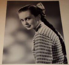 JANETTE  SCOTT /  YOUNG  8 x 10  B&W  PHOTO