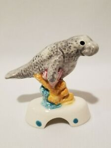 St. Pete's Pie Bird Factory MANATEE Vent Funnel by Norma Lewis