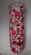 NEW with TAG  M&Co Floral Design Fully Lined Pencil Dress  20  Superb !