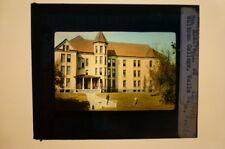 Magic Lantern Slide Indian Trail Whitman College Walla Walla Wash M E Church