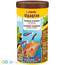 Fish Food Sera Vipagran 1000 mL Tropical Soft Granules FAST FREE USA SHIPPING