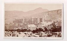 Vintage CDV Holyrood Palace, Edinburgh Scotland