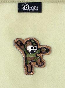 Genuine Orca Industries Mega Man 1980's Bitmap Pixel Retro Gaming Patch