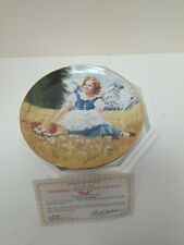 """Vintage Heidi Shirley Temple 8"""" Collectible Cabinet Display Plate #B1460"""