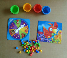 Hi Ho Cherry-o 4 Buckets 43 Cherries Spinner Puzzle Game Pieces Replacement sa