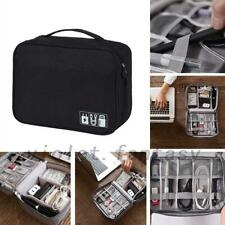 Electronic Accessories Cable Charger USB Storage Travel Case Organizer Bag New