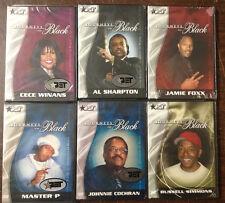 Lot, Journeys in Black DVDs, Cece, Foxx, Master P, Al Sharpton, Cochran, Simmons