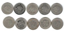 lot de 5 pieces de 100 francs Cameroun ( 006 )