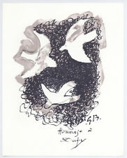 Georges Braque lithograph printed by Mourlot