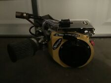 Go Kart Racing Yellow Green Plate Clone Engine built by Ts Racing