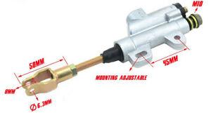 Rear Hydraulic Brake Master Cylinder For Motorcycle ATV BIKE Buggy 50cc-200cc