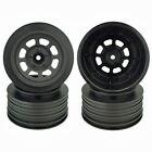 DE RACING SPEEDWAY SC Wheels TRAXXAS SLASH REAR 21.5 mm Backspacing Black DS-4RB