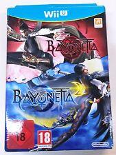 BAYONETTA + BAYONETTA 2 SPECIAL EDITION WII U NUOVO SIGILLATO NEW SEALED