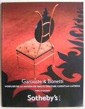 GAROUSTE & BONETTI   Vente Sotheby s  2010