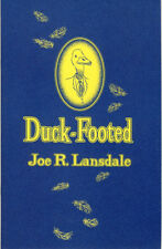 Joe R Lansdale DUCK-FOOTED Chapbook NEW SIGNED Subterranean Press