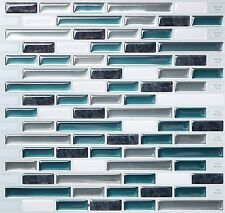 Tic Tac Tiles® -  Premium 3D Peel & Stick Wall Tile in Como Bay (5 sheets)