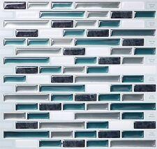 Tic Tac Tiles® -  Premium 3D Peel & Stick Wall Tile in Como Bay (10 sheets)