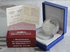 FRANCE  1,50 EURO ARGENT 2004 - COURONNEMENT DE L'EMPEREUR NAPOLÉON I