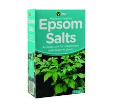 Epsom Salts 1.25kg Magnesium Sulphate Cure Magnesium Deficiency In Plants VITAX