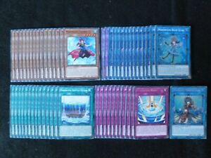 YU-GI-OH 56 CARD MARINCESS DECK  *READY TO PLAY*