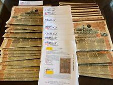 China 1913 Chinese Government 5% Reorg. gold loan £20W/ pass-co report
