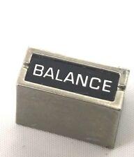 Panasonic Rs-2575 Compact Stereo Turntable Knob Part Balance Knob