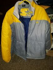 Men's Starter 2XL Yellow+Gray Winter Jacket BRAND NEW