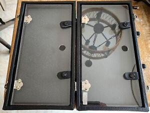 20 Pocket Watch Travel and Display Case w/ Bonus Space