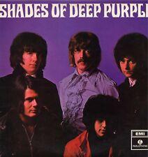 "DEEP PURPLE ""SHADES OF"" ORIG UK STEREO 1968 Y/B LBL EX-/EX-"
