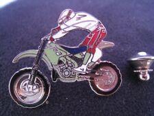 Pin's Folies ** Enamel pin Badge D&M  Moto Cross Motorcycle Motocycle